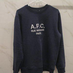 A.P.C. Rue Madame Paris Cotton Sweatshirt